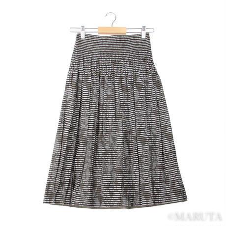 C-irrinD Reversible flower pattern Skirt