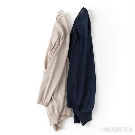 Knit Okazaki washi long Cardigan