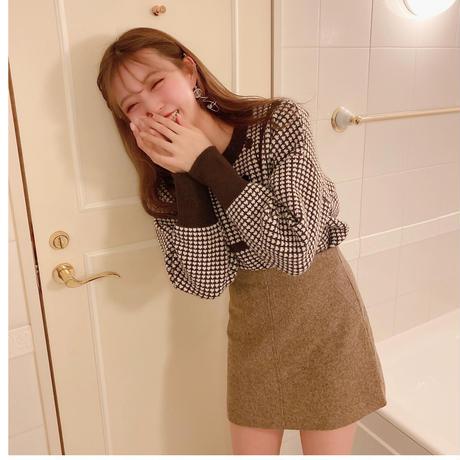 nuancecolor mini skirt