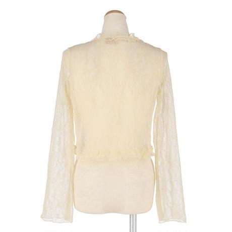 retrochic lace cardigan