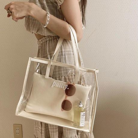 púttiy . clear bag