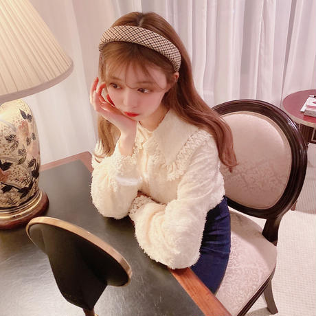mocomoco lace blouse