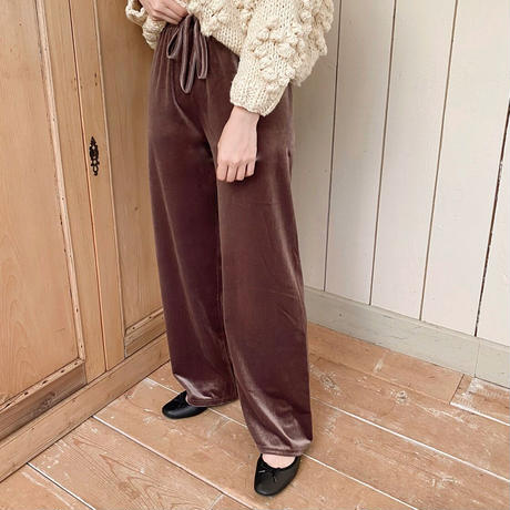 brown easy pants
