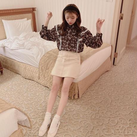 Gypsophila blouse ″brown″