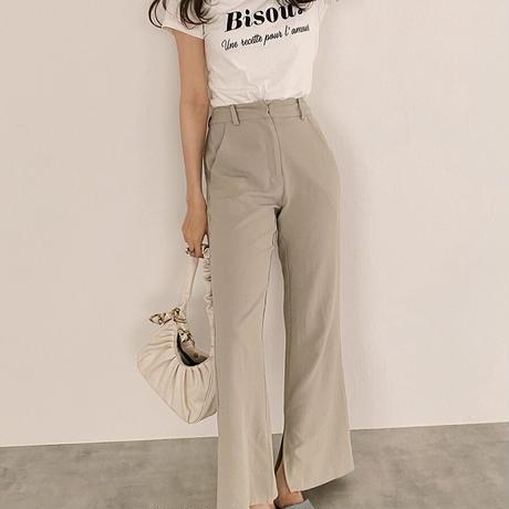 '' Bisou '' logo tee shirt