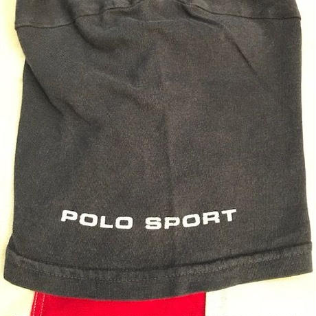 【USED】POLO SPORT SURF tee ネイビー L