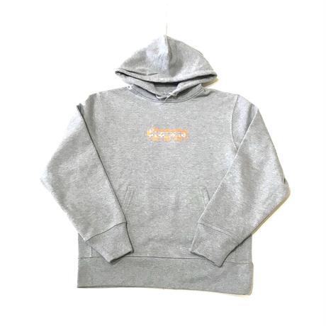 【ラス1】PUZZLE ORANGE BOX 12.7o.z sweat hoodie グレー M