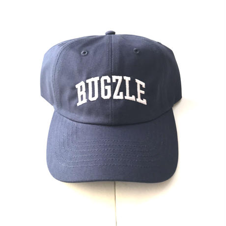 PUZZLE×RUGGED RUGZLE adjuster cap ネイビー×ホワイト