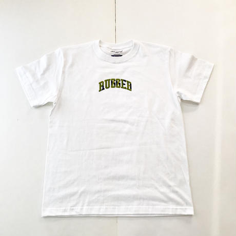 【ラス1】PUZZLE×RUGGED 6th ANNIVERSARY tee ホワイト M