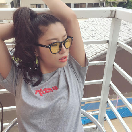 Champion ✖︎ pxsxl ◎ 刺繍ロゴTシャツ