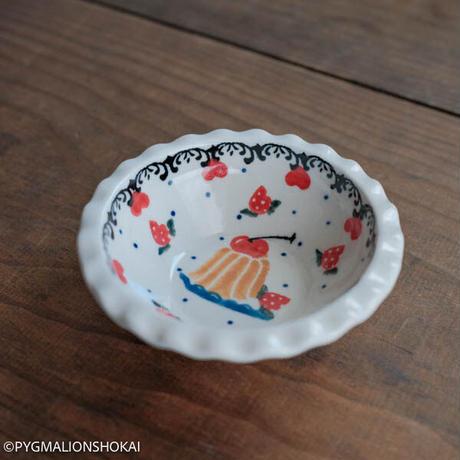 ギザ小鉢/苺ゼリー