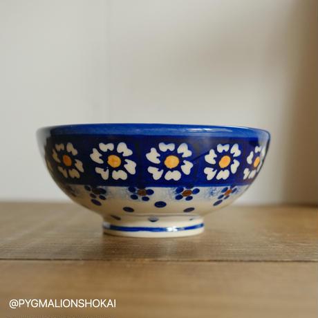 ご飯茶碗小/みずたまブルーカモミール