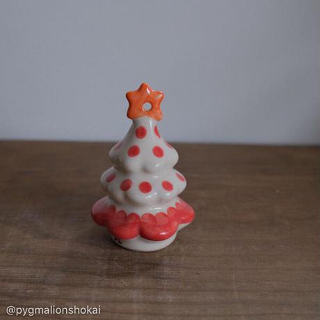 クリスマスツリー/ミニ/赤みずたま