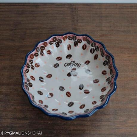 波型小鉢12cm/coffee