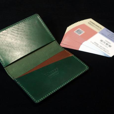 q-horse セルフフィニッシュコードバン カードケース(穴ありタイプ)
