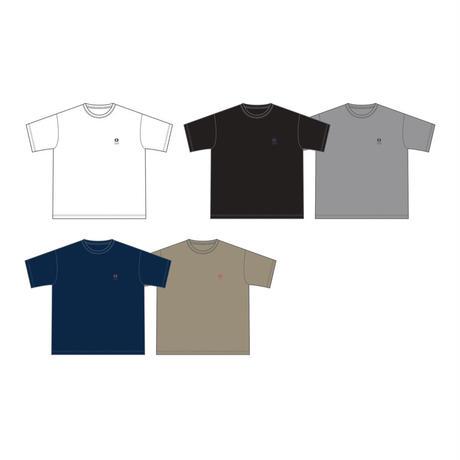 NEW LOGO刺繍 BIG Tシャツ(ホワイト)