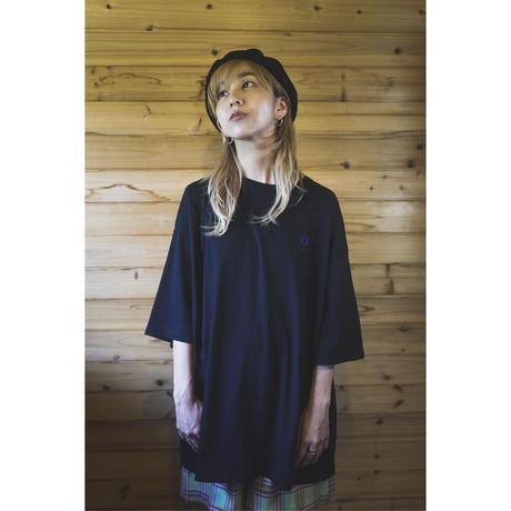 NEW LOGO刺繍 BIG Tシャツ(ブラック)