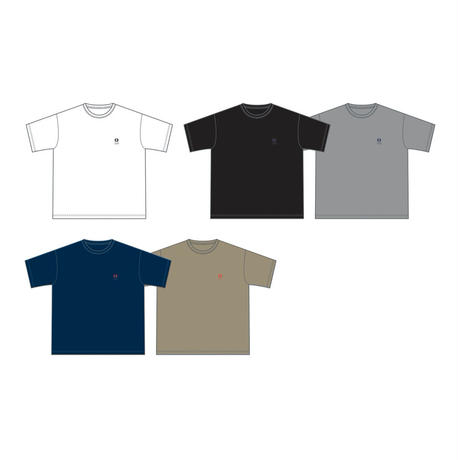 NEW LOGO刺繍 BIG Tシャツ(ネイビー)
