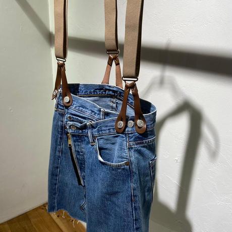 【Risley】Remake Denim Short Skirt (1370023)