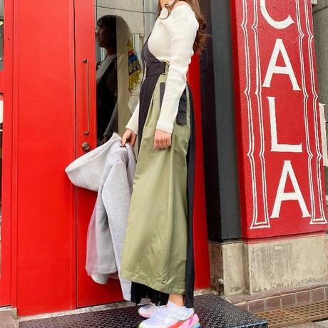 【Risley】One Shoulder   Pleats Skirt(1740320)
