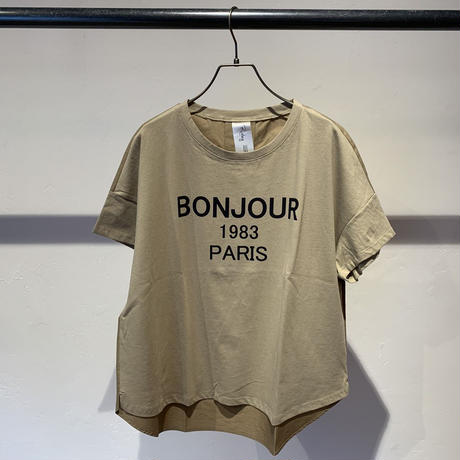 【Risley】BONJOUR T-shirt (1740226)