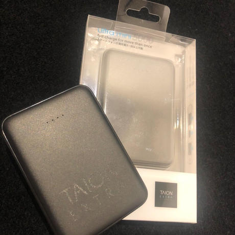 【 TAION EXTRA UTILITY PERFORMANCE WEAR】TAION EXTRA×ABSOLUTE 5000MAH CHARGER