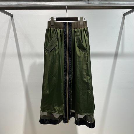 【Risley】Reversible Mesh Skirt (1740277)