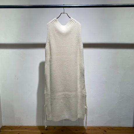 【Risley】Cable  No Sleeve Knit One-Piece(1510165)