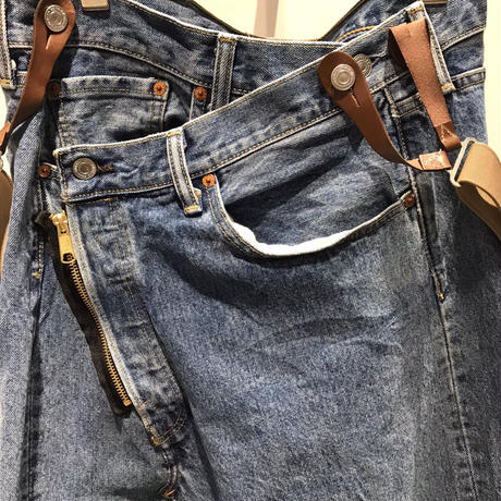 【Risley】Remake Denim Long Skirt (1370021)