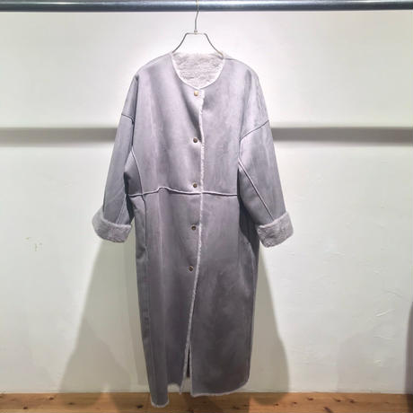 【Risley】Reversible  Mouton Long Coat(1680010)