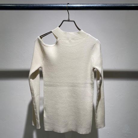 【Risley】Cut Out Shoulder Knit(1510163)