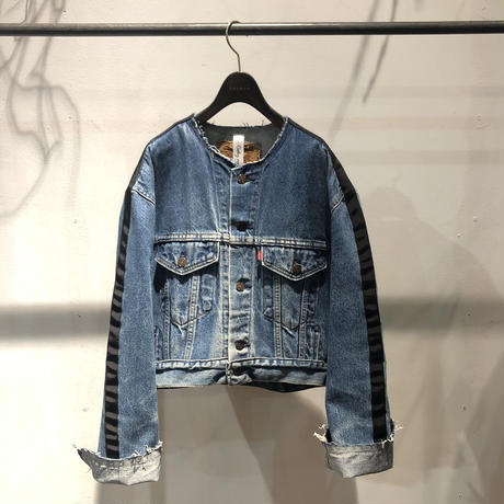 【Risley】 Remake Denim Jacket (1370015)