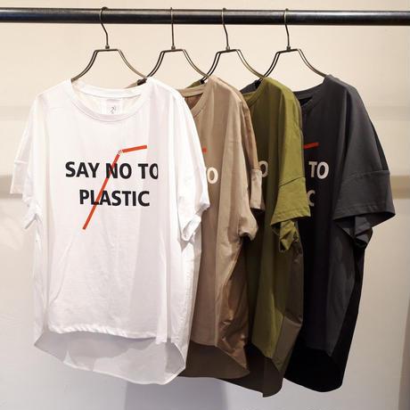 【Risley】SAY NO TO PLASTIC T-shirt (1740268)