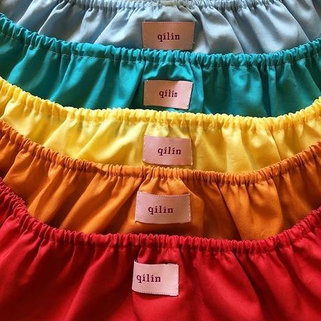 全6色6枚組カラーコットンクロッチUPショーツセット(クロッチヘンプコットン)