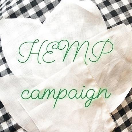 【HEMP campaign消費税サービス】徳島藍染ヘンプクロッチUPショーツ
