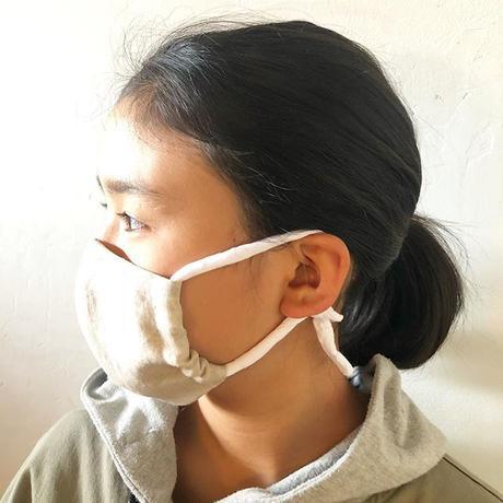 キッズ単品【簡易ゴムversion・裏面ヘンプ】カラーマスク全4色