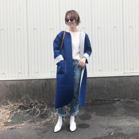 追加製作(original)neo coat(ブルー×ライトグレー)