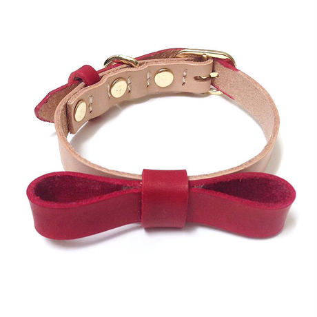 Red Ribbon Collar&Lead