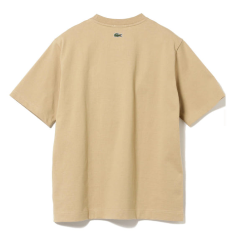 BEAMS LACOSTE × BEAMS / 別注 ヴィンテージ バッジ Tシャツ