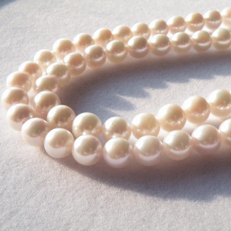 120cm long akoya pearl necklace (7.5-8mm)
