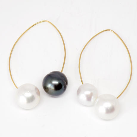 hover big pearl Swring pierce