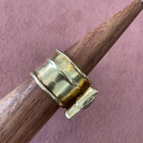 Salt'n Pepper Old rosecut Diamond ring