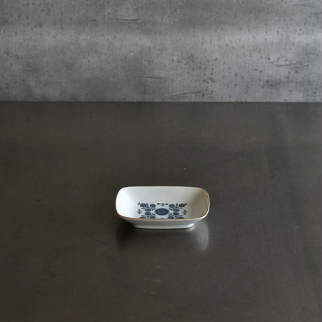 古道具部 幾何学模様の長方小皿