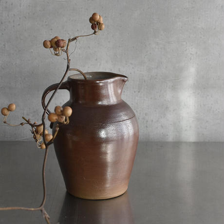 古道具部 フランス 陶器の水差し