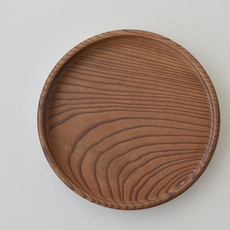 古道具部 欅の刳り貫き丸盆