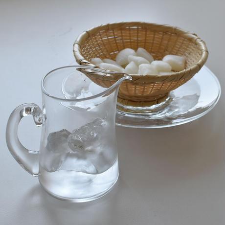 小宮崇 ガラスの八角皿 ⑬
