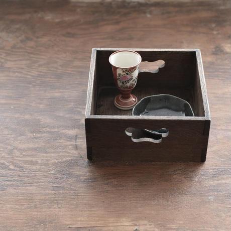 古道具部 蝶型持ち手の煙草盆