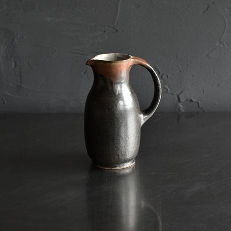 たくまポタリー ピッチャー グレー茶