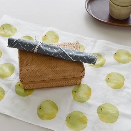 アケモドロ 型染め手ぬぐい   梨