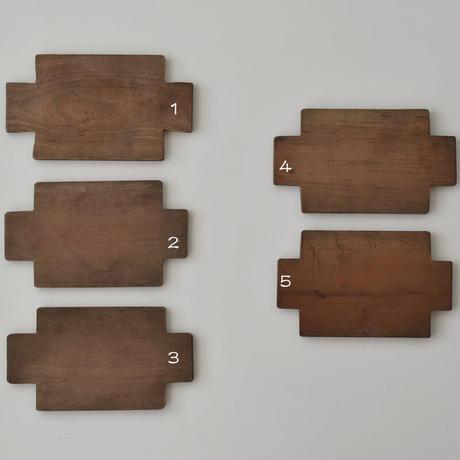 古道具部 菓子木型B 薄色
